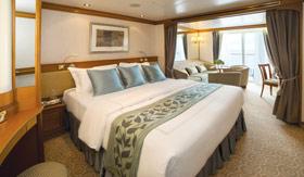 Regent Seven Seas Cruises staterooms Deluxe Suite