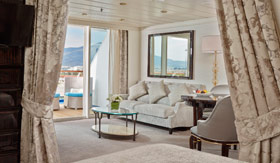Regent Seven Seas Cruises staterooms Horizon Suite