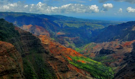 Regent Seven Seas Cruises - Waimea Canyon in Hawaii