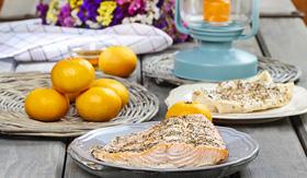 Royal Caribbean Alaskan Salmon Bake