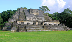 Royal Caribbean Altun Ha ruins of an ancient Mayan City in Belize
