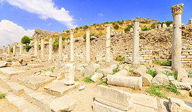 Royal Caribbean ancient ruins in Ephesus Turkey