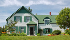 Royal Caribbean Anne of Green Gables House in Prince Edward Island Canada