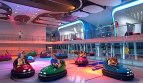 Royal Caribbean's Anthem of the Seas SeaPlex Bumper Cars