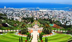 Royal Caribbean Bahai Gardens in Haifa, Israel