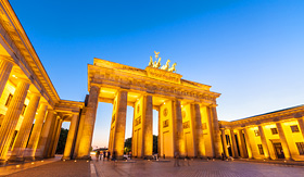 Royal Caribbean Brandenburg Gate in Berlin, Germany