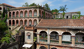 Royal Caribbean buildings in Gulangyu Xiamen China