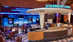 Royal Caribbean International dining Starbucks