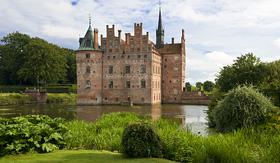 Royal Caribbean Egeskov Castle in Funen, Denmark