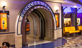 Royal Caribbean International entertainment Comedy Club