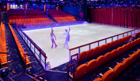 Royal Caribbean International entertainment Ice Skaing Shows