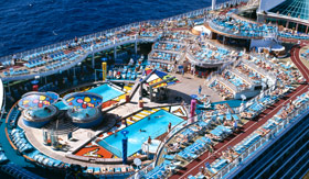 Royal Caribbean International entertainment Pool Parties
