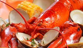 Royal Caribbean lobster cookout