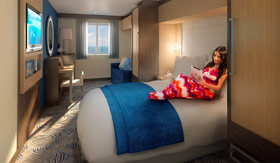 Royal Caribbean Oceanview Stateroom