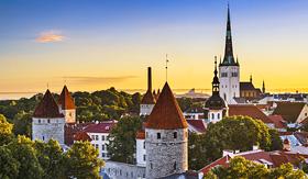 Royal Caribbean Old City of Tallinn, Estonia