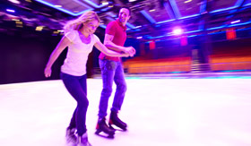 Royal Caribbean International onboard activities Ice Skating