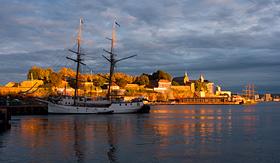 Royal Caribbean Oslo Harbor in Norway