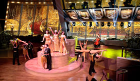 Royal Caribbean Ovation of the Seas' Two70 Gatsby Performance