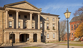 Royal Caribbean Province House in downtown Charlottetown Prince Edward Island