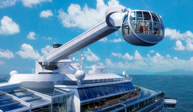 Royal Caribbean's North Star aboard Quantum of the Seas