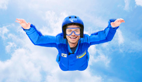 Royal Caribbean's Ripcord Skydiving Simulator