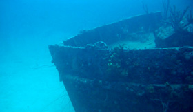 Royal Caribbean shipwreck Barbados