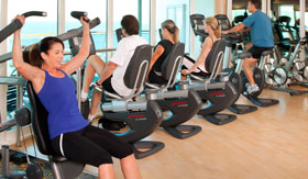 Royal Caribbean International spa & fitness Fitness Center
