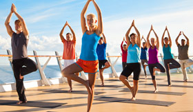 Royal Caribbean International spa & fitness Fitness Classes