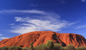 Royal Caribbean Uluru Rock