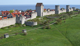 Royal Caribbean UNESCO World Heritage Site of Visby, Sweden