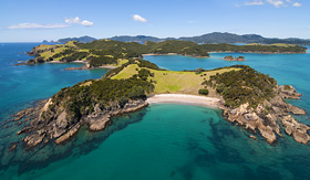 Royal Caribbean Urapukapuka Island Bay of Islands New Zealand