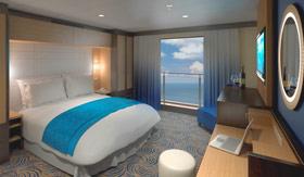 Royal Caribbean Interior with Virtual Balcony