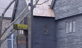 Royal Caribbean witch house in Salem Massachusetts