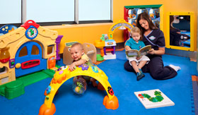 Royal Caribbean International youth programs Just for Babies (6-26 months) - Babies & Tots Program