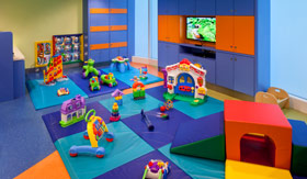Royal Caribbean International youth programs Just for Babies (6-36 months) - Dedicated Nursery