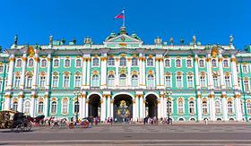 Russia Cruises Hermitage Museum in St. Petersburg, Russia