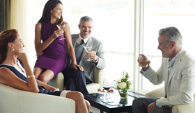 Conversations onboard Seabourn