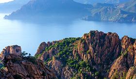 Seabourn Corsica Island rocky coastline called Calanche France