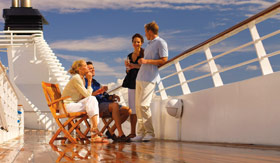 Seabourn Cruise Line dining Patio Grill