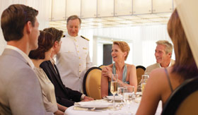 Seabourn Cruise Line dining The Restaurant
