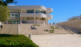 Getty Center Art Museum in Los Angeles, CA