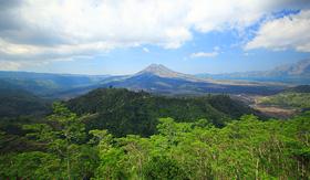 Seabourn Kintamani Volcano Bali island Indonesia