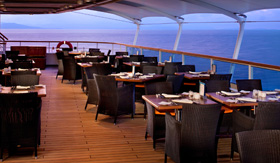 Seabourn Odyssey Colonnade dining