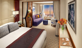 Seabourn Ovation - Suite Rendering
