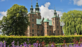 Seabourn Rosenborg Castle in the centre of Copenhagen Denmark