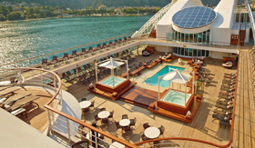 Seabourn Sojourn Pool Deck