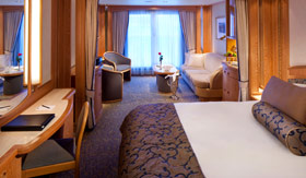 Seabourn Cruise Line staterooms Balcony/Veranda Suite