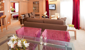 Seabourn Cruise Line staterooms Signature Suite