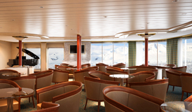 Panorama Lounge aboard Silver Cloud Expedition