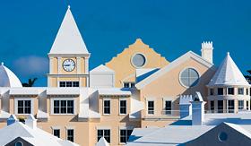 Silversea Cruises bermudian architecture Hamilton Bermuda